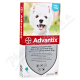 Advantix pro psy spot. on. od 4-10kg a. u. v. 1x1ml