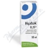 Hyabak Protector 0. 15% gtt.  10ml