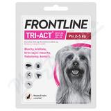 Frontline Tri-Act psi 2-5kg spot-on pipeta 1x0. 5ml