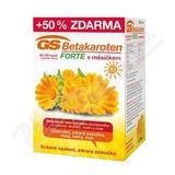 GS Betakaroten Forte s měsíčkem cps.  80+40 + sprchový gel zdarma