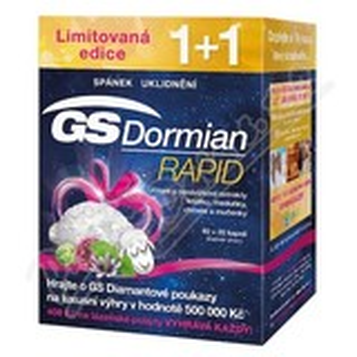 GS Dormian Rapid cps. 40+20 dárek 2017