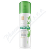 KLORANE Suchý šampon kopřiva pro tm. vlasy 150ml