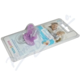 BABY NOVA dudlík Dentistar v. 2 kroužek-se zoubky