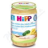 HiPP JUNIOR Těstoviny s rybou brokolicí a sme. 220g