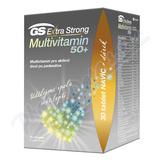 GS Extra Strong Multivit. 50+ tbl. 90+30 dárek 2021
