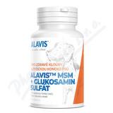 Alavis MSM+Glukosamin sulfát pro psy tbl. 60 + dárek reflexní vesla pro psy