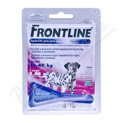 Frontline Spot On Dog L 1x1 pipeta 2.68 ml